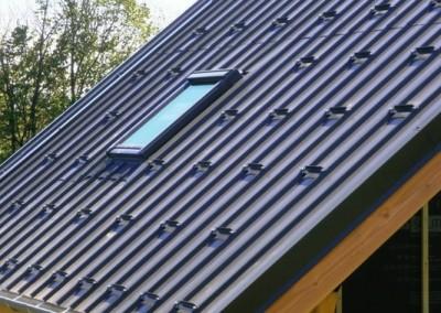 Lans en Vercors - Couverture bac acier