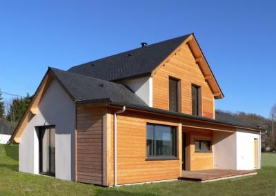 Maisons ossature bois finis