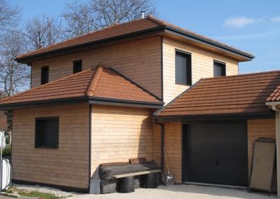 Colombes - maison ossature bois