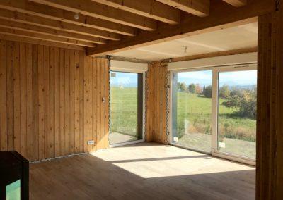 Aménagement intérieur maison bois - Le Passage