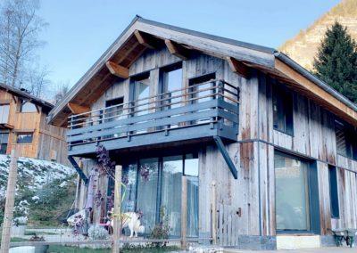 maisons bois MHM - Megève