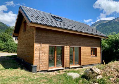 maisons ossature bois à sarcenas